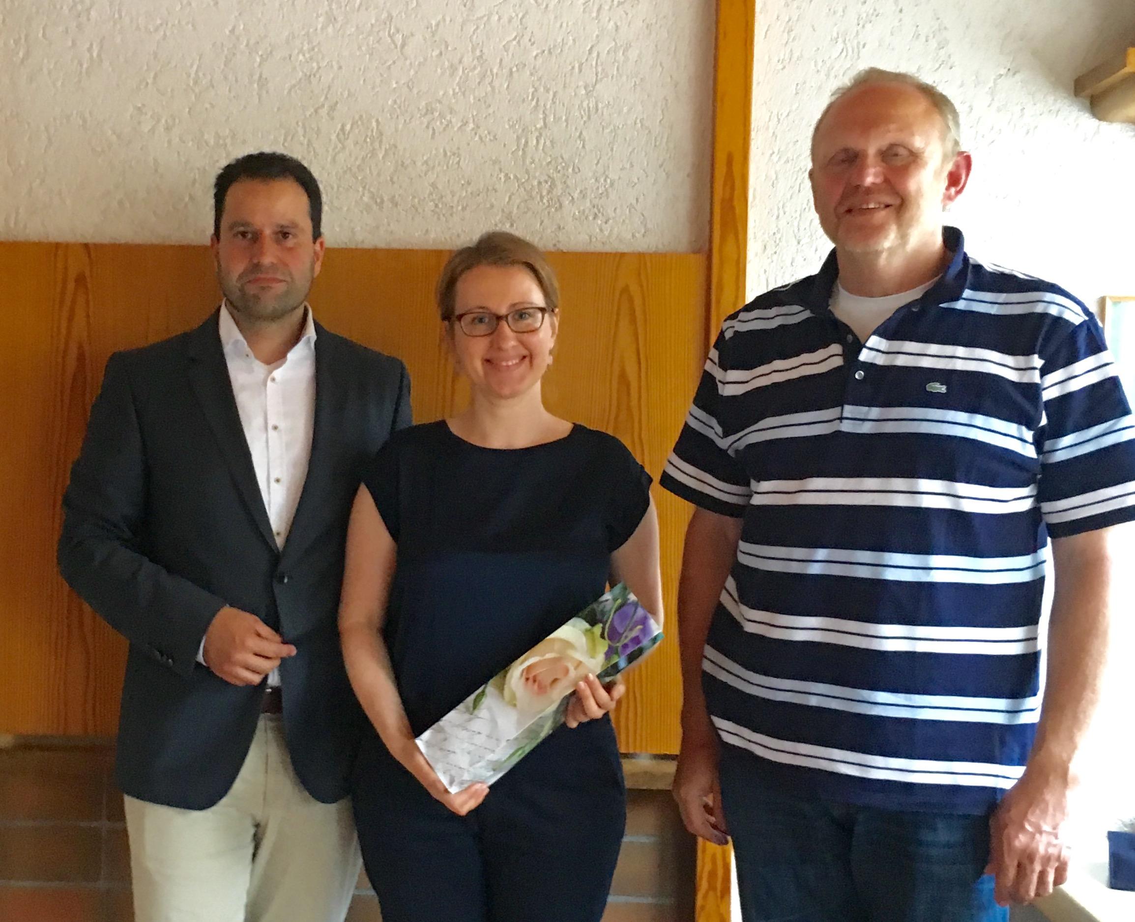Foto: Dr. Martin Uhl, Astrid Rothenberger, Wolfgang Schanz (v. l.)
